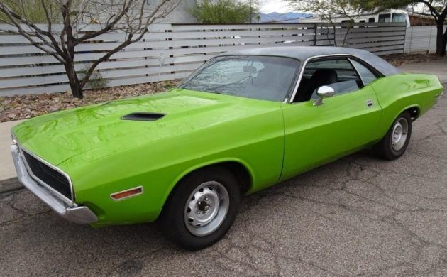 Colorful Past: 1970 Dodge Challenger Driver