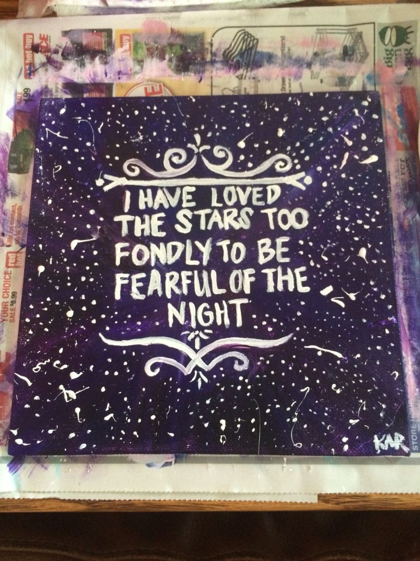 star quote canvas