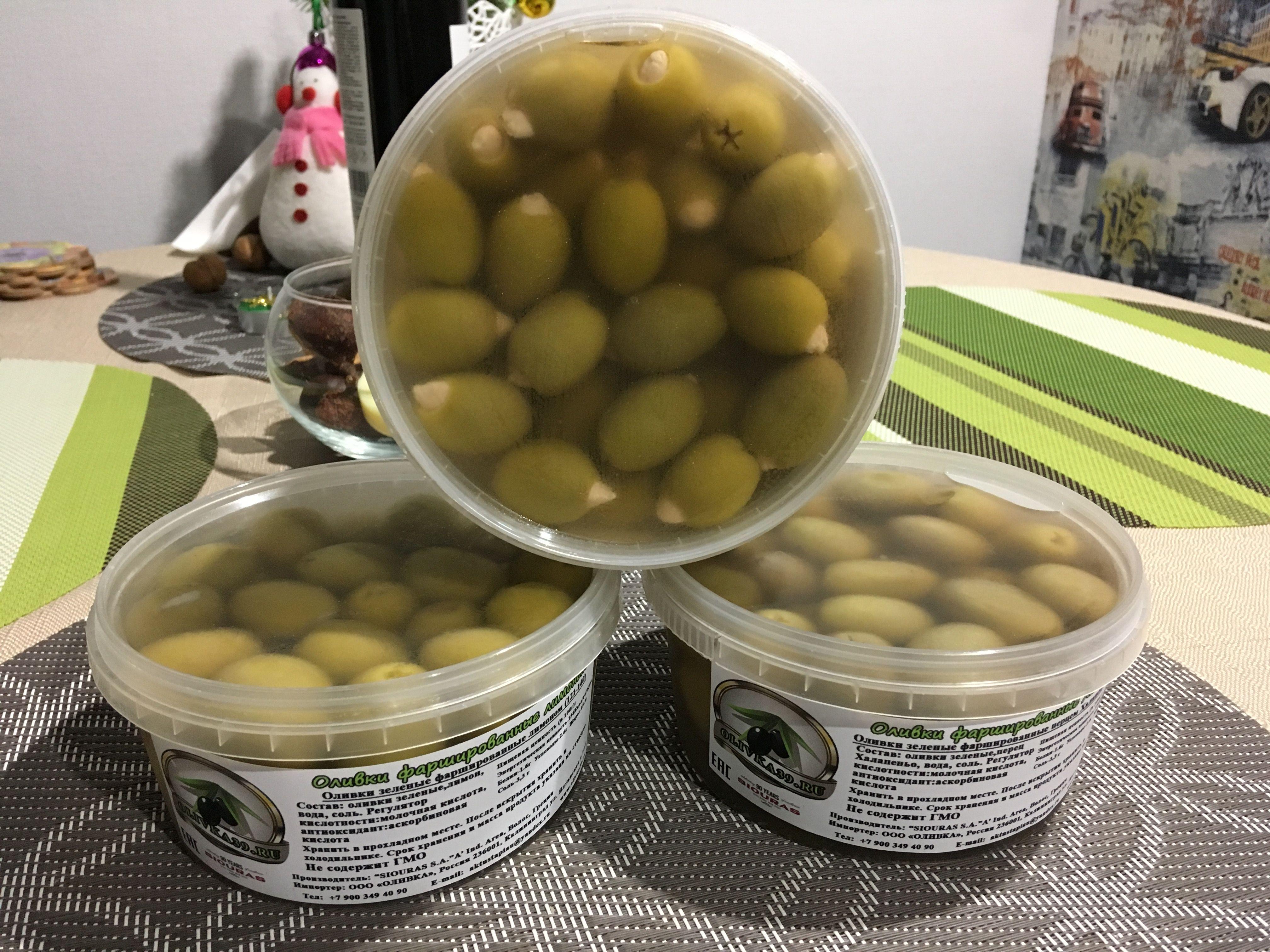 Где купить классные и вкусные оливки в Калининграде?