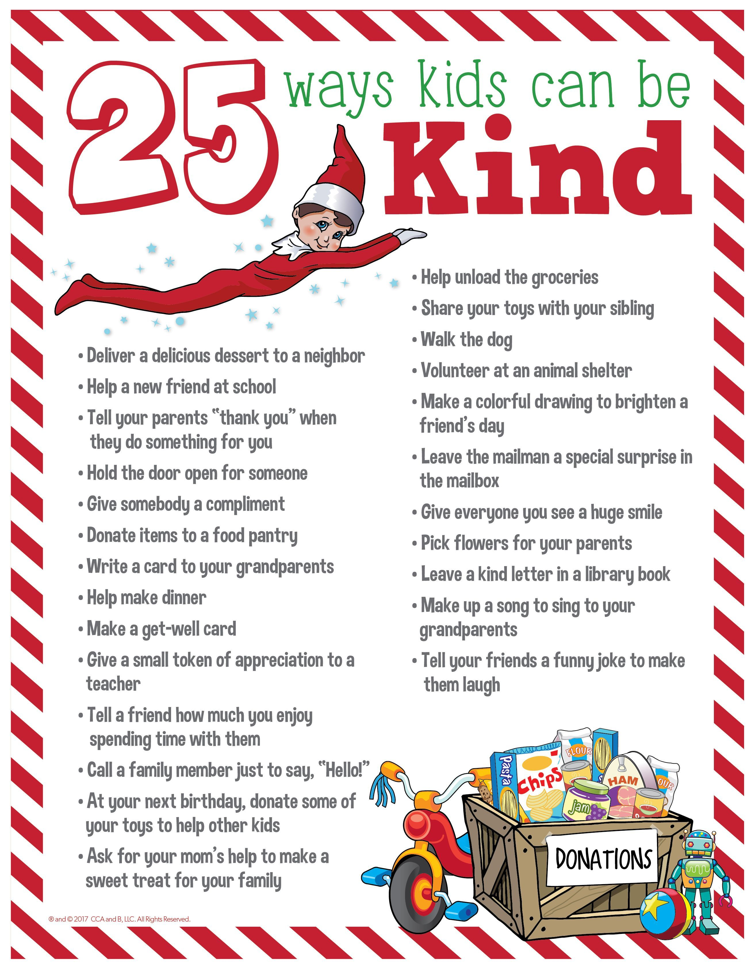 25 Acts Of Kindness For Kids