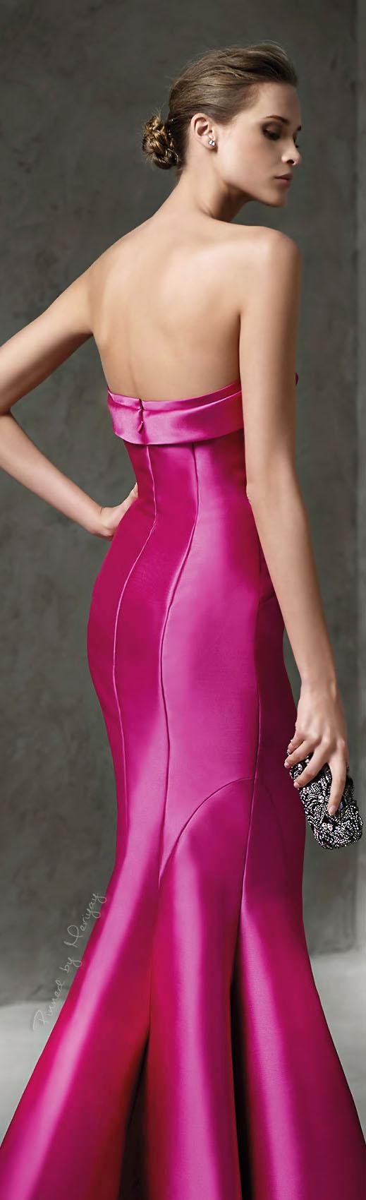 Pronovias 2016. | Pink | Pinterest | Vestidos alta costura, Vestidos ...