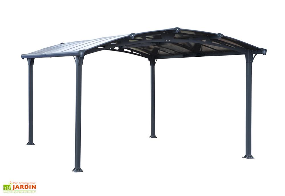 Carport en Aluminium et Polycarbonate Arcadia 4300 15 m²