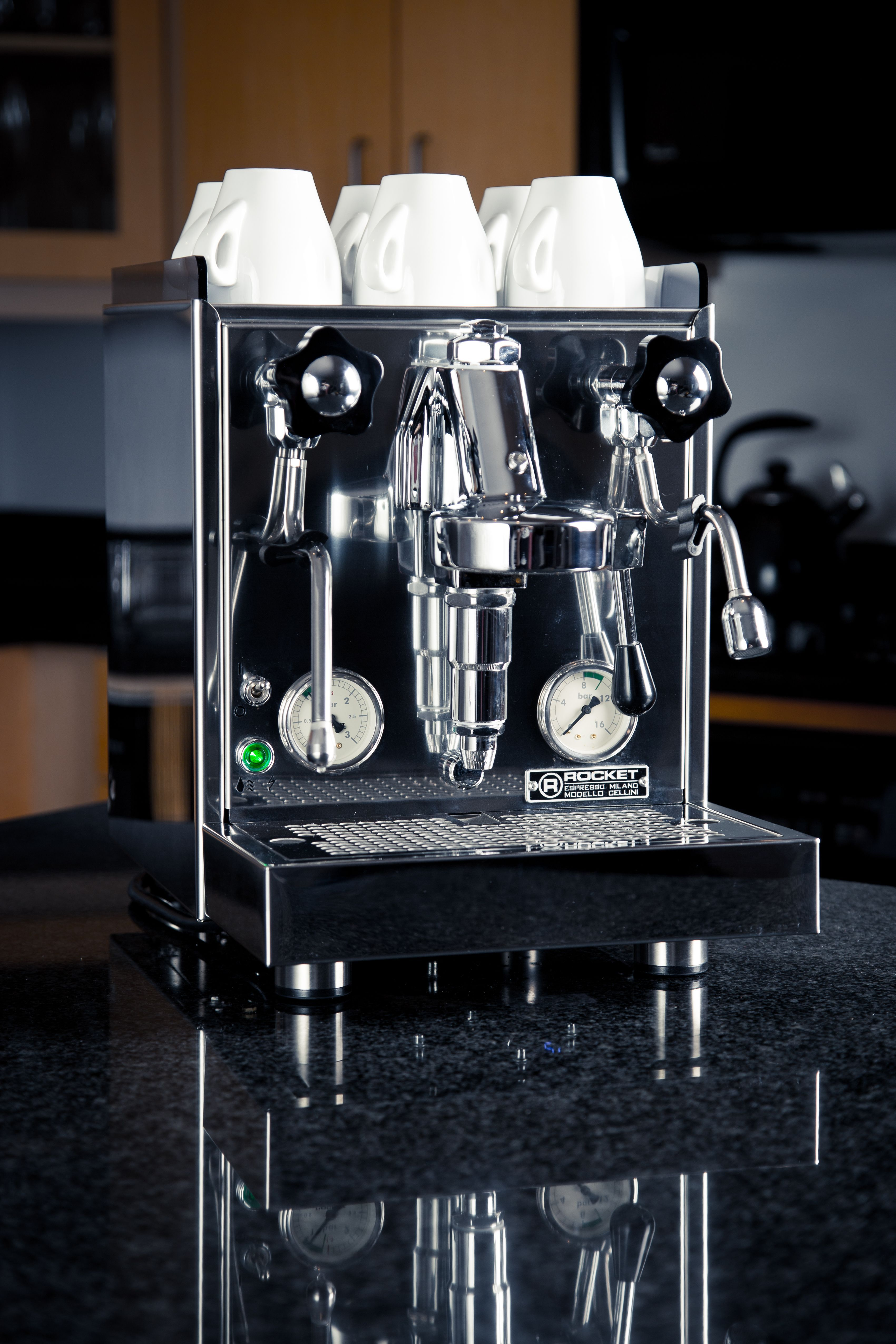 Rocket Espresso machines (made in Italy) are as beautiful