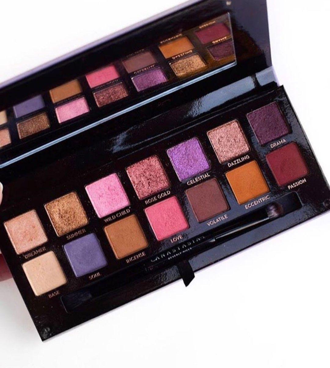 Norvina Palette Anastasia Beverly Hills. Makeup