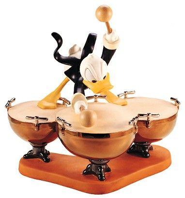 WDCC Disney Classics - Symphony Hour Donald Duck Donald's Drum Beat