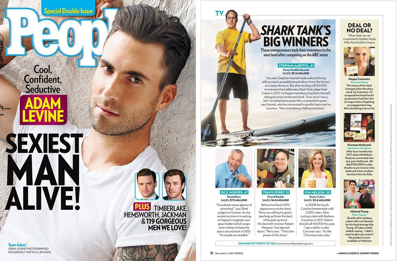 Shark Tank People Magazine Article featuring our Founder & CEO ...