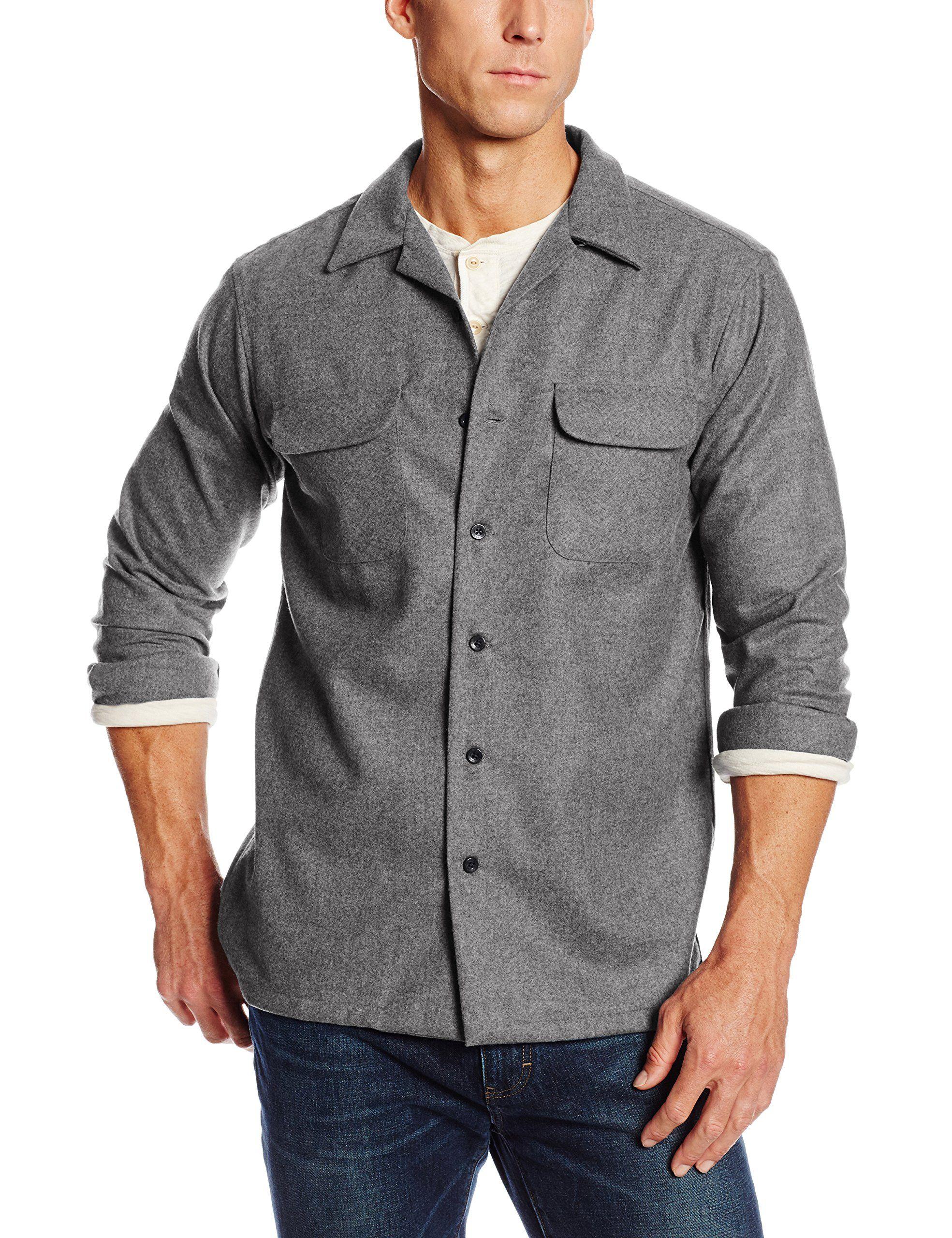 Pendleton Mens Long Sleeve Tall Board Shirt