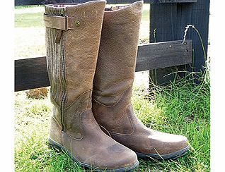Leather Wide Calf Boots If You Re Looking For A Lot More Style Than Wellies Can Offer These Clas Leather Wellies Country Boots Extra Wide Calf Boots