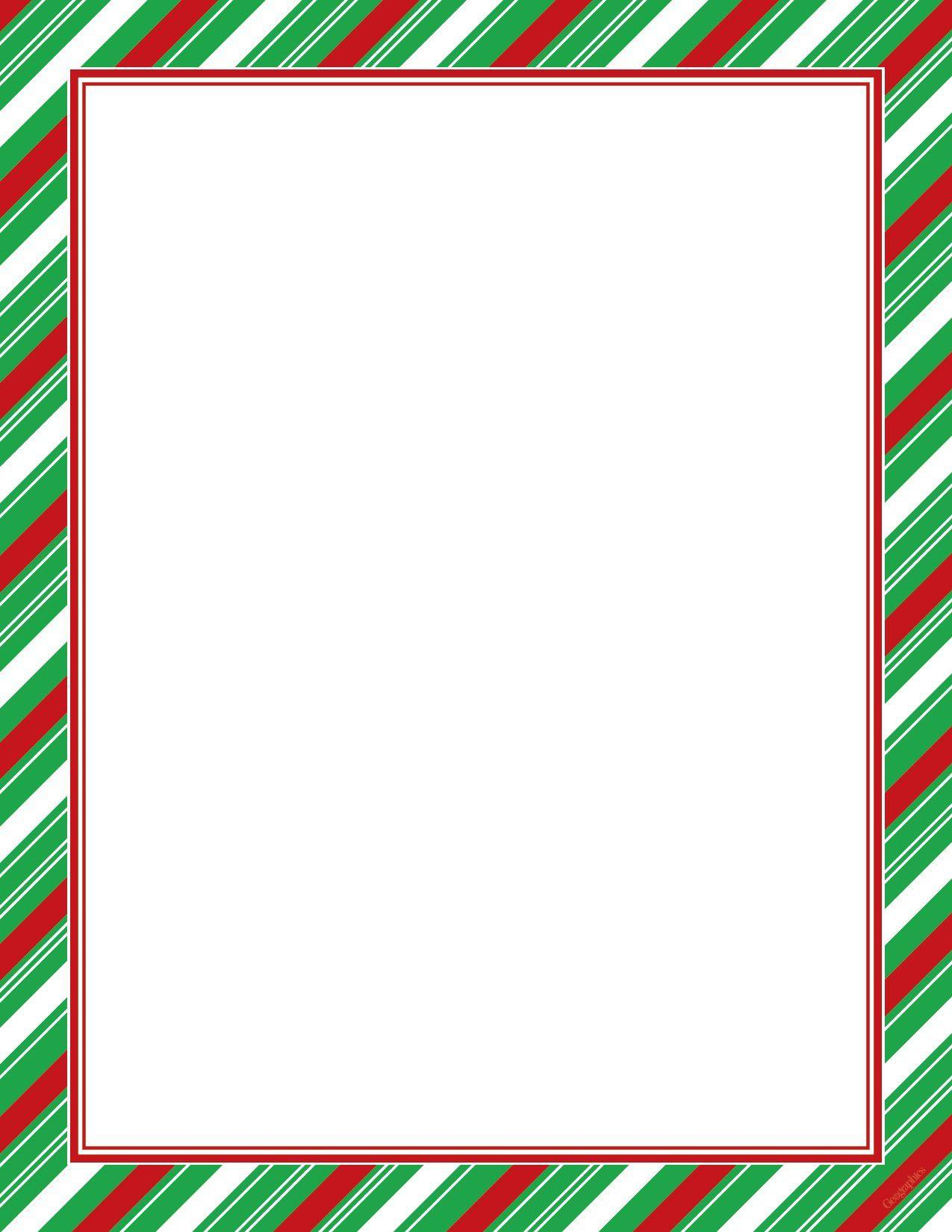 Robot Check Christmas Letterhead Christmas Lettering Christmas Boarders