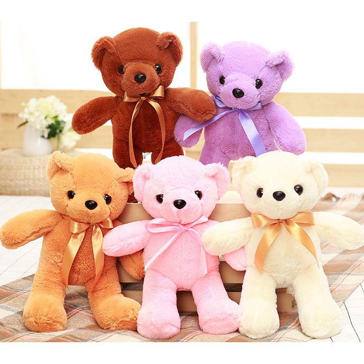 e57337dc5df9 New Arrived 35cm Small Size Teddy Bear Plush Toy Teddy Bear Soft Stuffed Toy  Cute Teddy Bear Soft Doll Birthday Gift