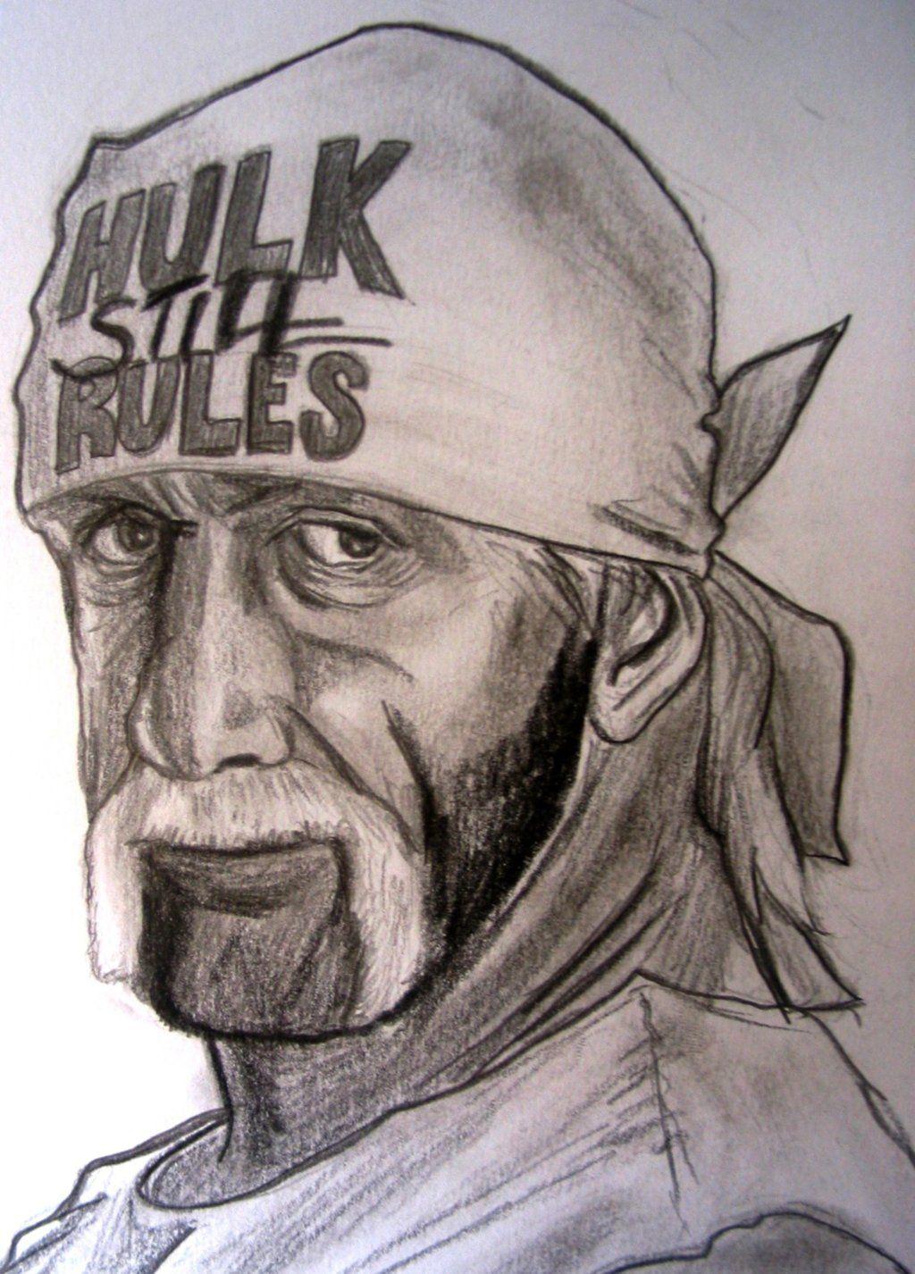 Wwe Hulk Hogan By Vinceart On Deviantart Wwe Hulk Hogan Hulk Hogan Wwe
