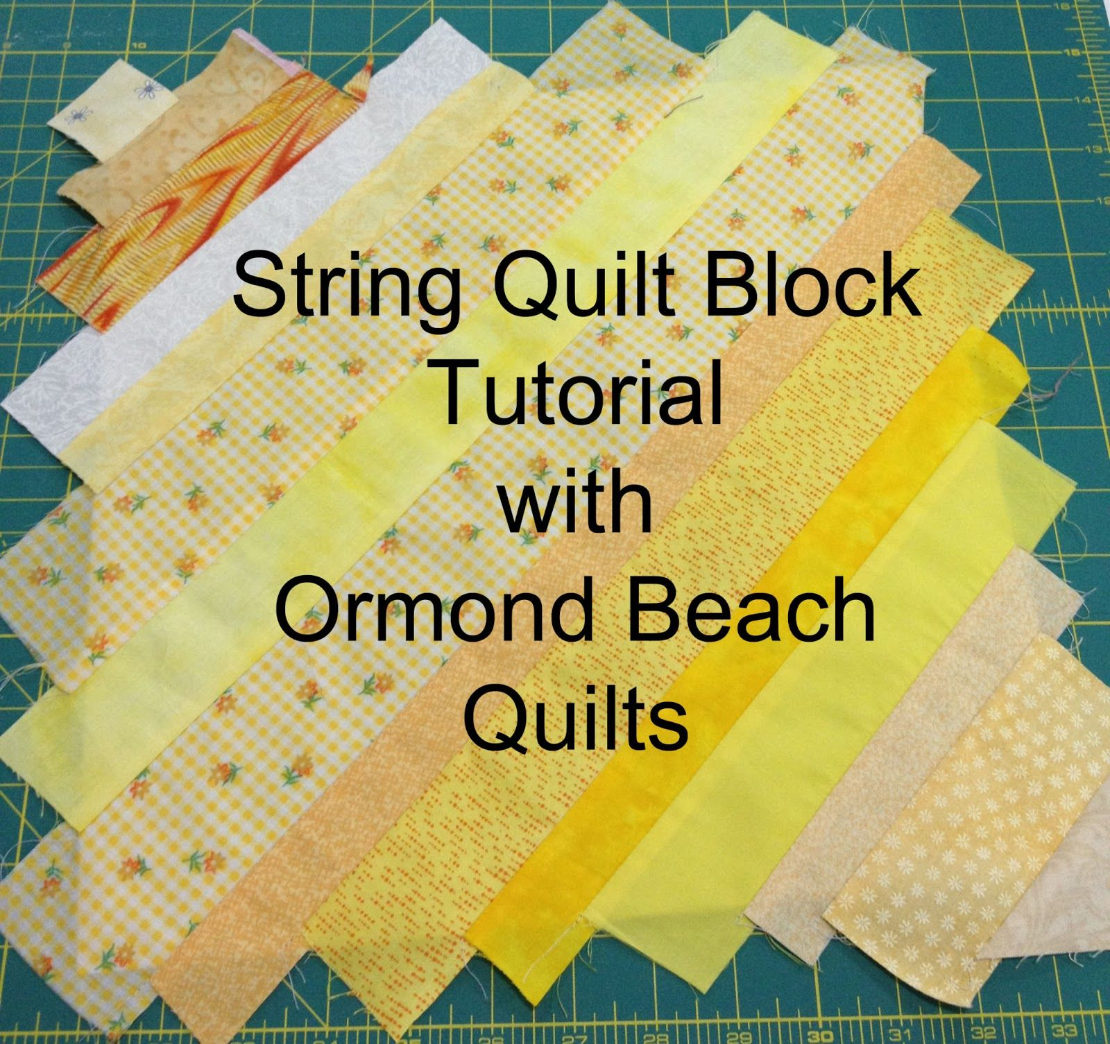 Here's Part 2 of the String Quilt Tutorial! (Part 1 is over here ... : string quilting tutorial - Adamdwight.com