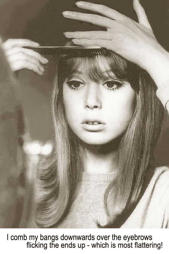 1960 S Hairstyles For Long Hair Pattie Boyd Glamour Daze 1960s Hair 1960 Hairstyles Vintage Hairstyles