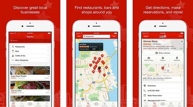 Yelp App Gets Optimized for iPhone 6 and iPhone 6 Plus
