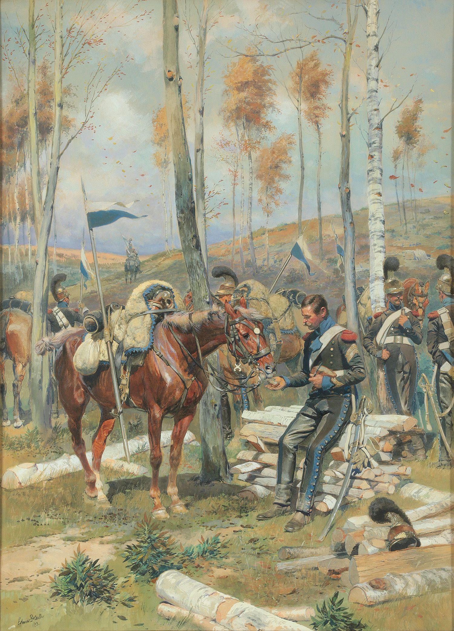 Repos De La Cavalerie Collection Kjs Armee Francaise Guerres Napoleoniennes Cheval