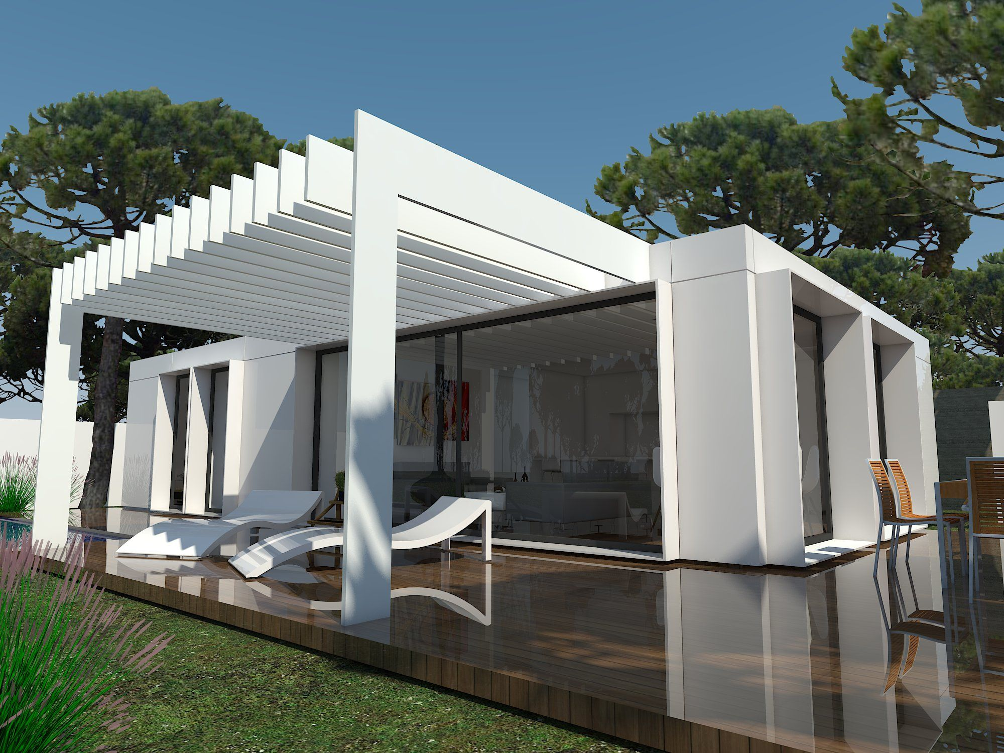 Pin by oziander on container casas hechas con - Casas de contenedores maritimos ...
