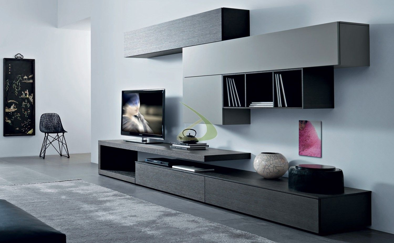 mobile-soggiorno-moderno-in-legno.jpg 1.500×927 pixels | tv komoda ... - Mobili Soggiorno Minimal 2