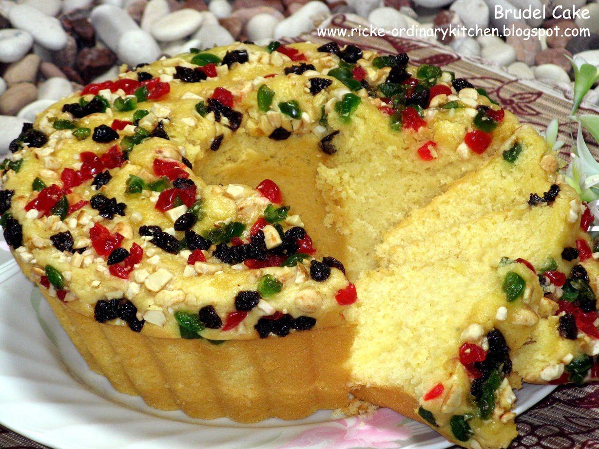 Brudel Cake Ini Kue Khas Manado Sering Juga Ada Yg Menyebut Bluder Cake Bluder Ada 2 Macam Yaitu Bluder Cake Dan Rot Makanan Ringan Gurih Kue Tulban Makanan