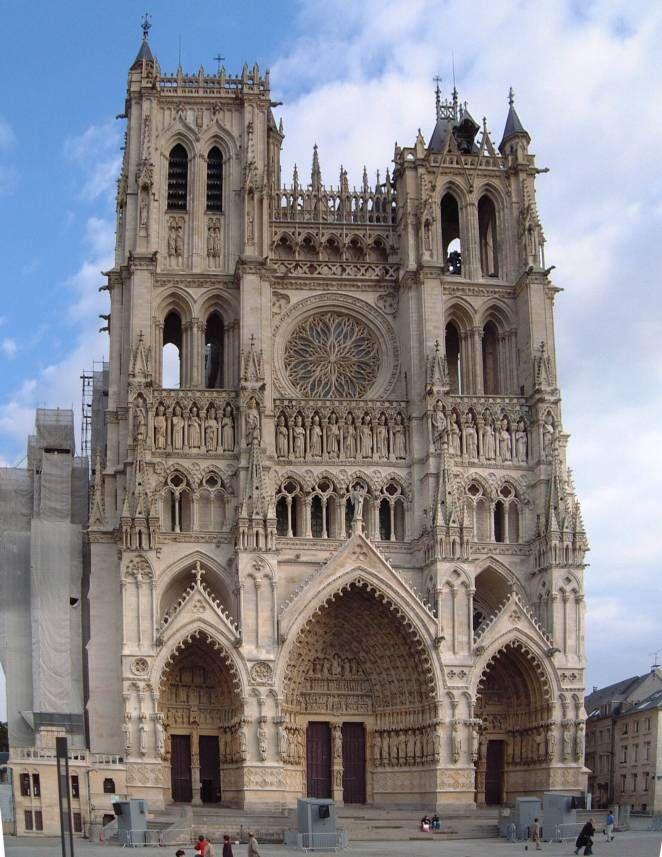 Catedral de amiens francia patrimonio de la humanidad for Arquitectura gotica partes