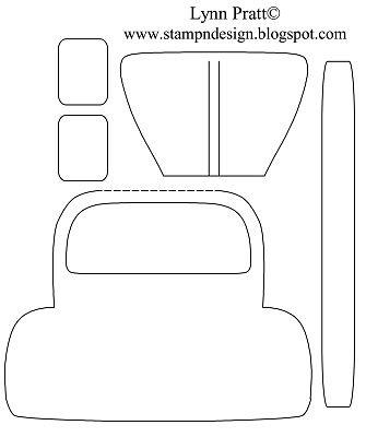 Bug card template VW Bug - Bad Day Card (Add a steering wheel