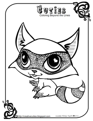 Creative Cuties Animal Coloring Pages Cute Coloring Pages Coloring Books