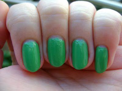 Julie G Nail Color In Holla Peno