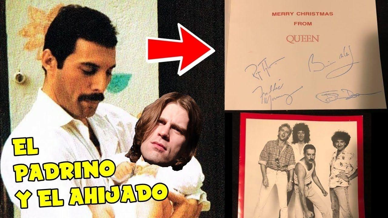 El Ahijado De Freddie Mercury Vende Una Tarjeta De Su Padrino Youtube El Padrino Ahijado Freddie Mercury