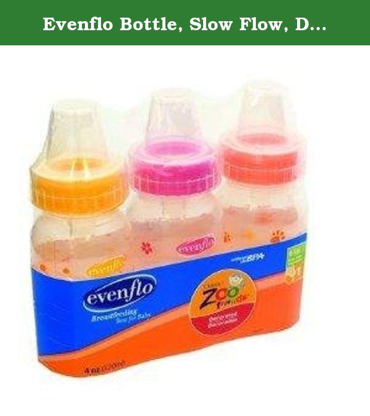Evenflo bottle slow flow decorated 8 oz 1 03 m 1 ct