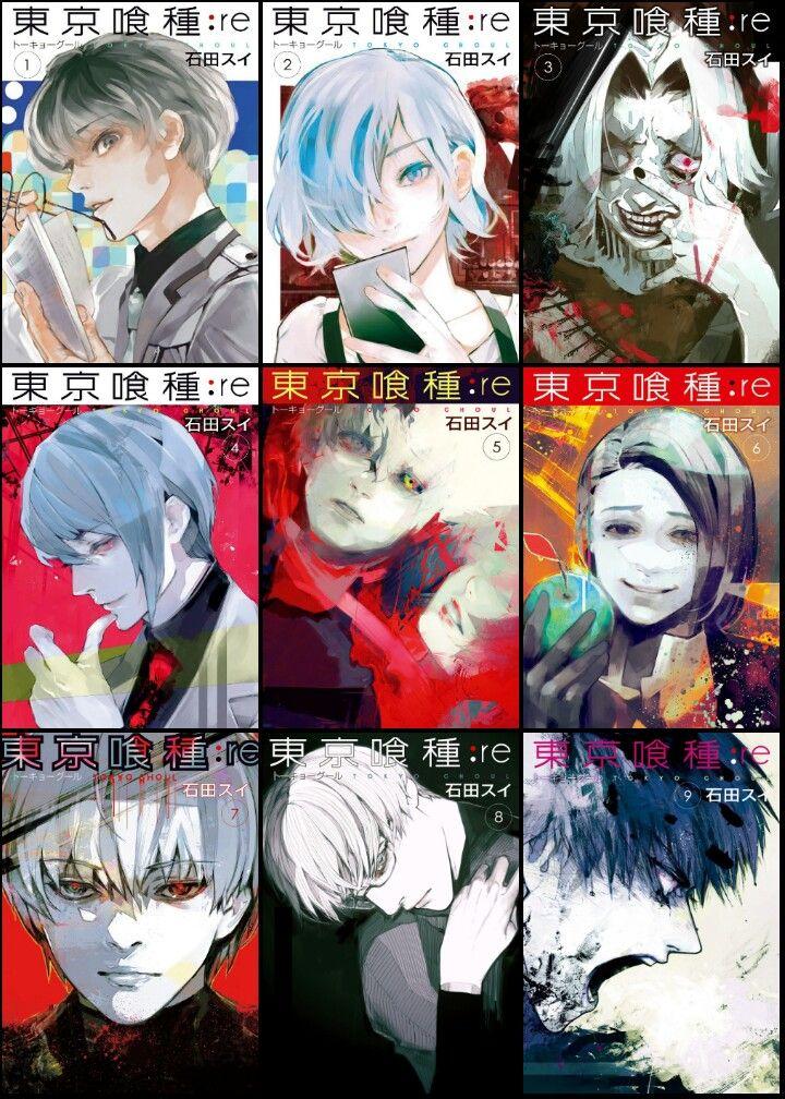 Tokyo Ghoul Re Manga Volume 1 Download Anti Feixista
