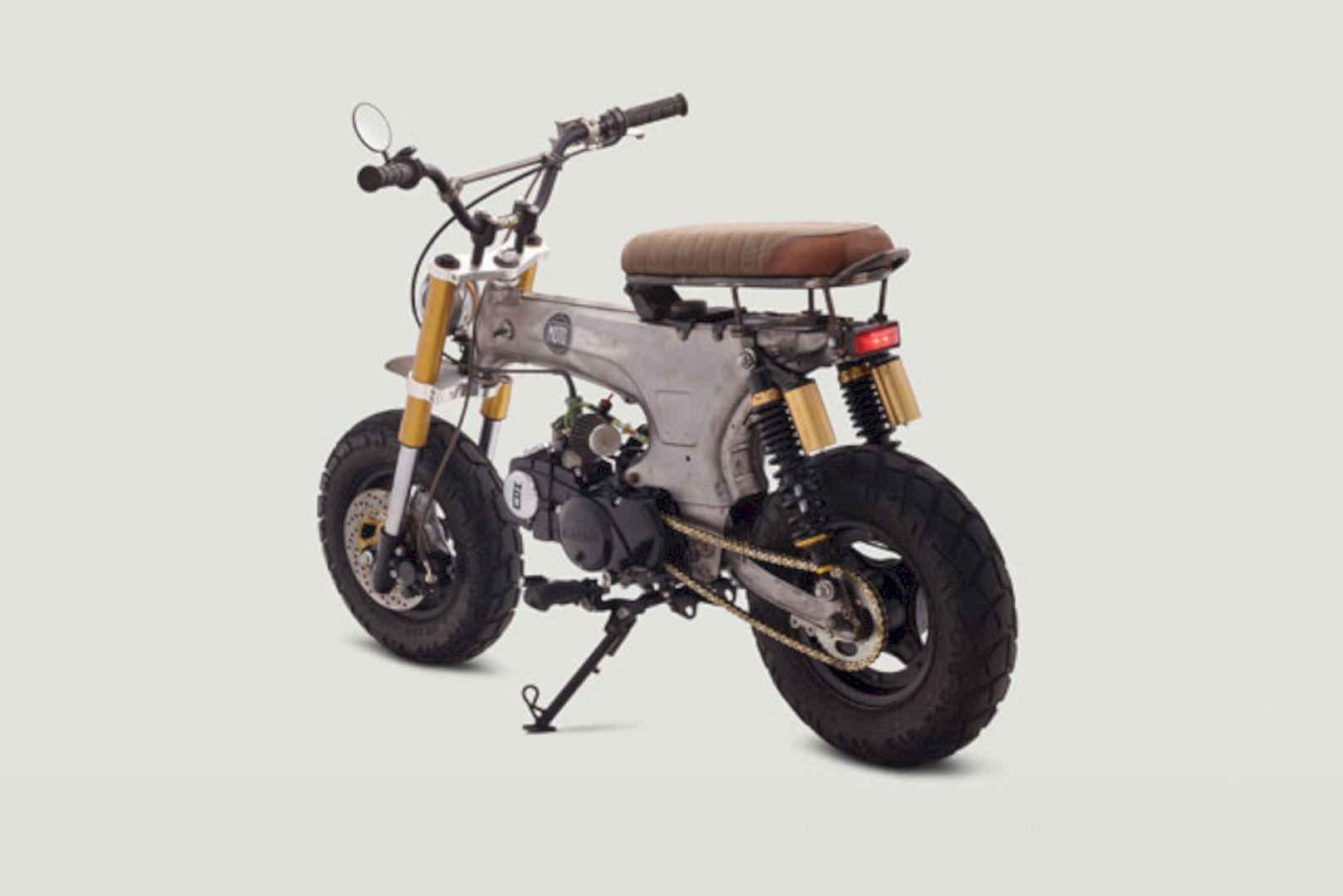 Honda Ct70 Scrambler Junior By Classified Moto Livin The Dream