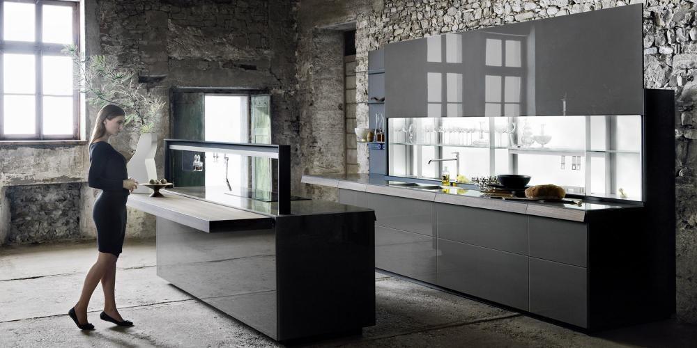 Moderne L Form Küchen Valcucine