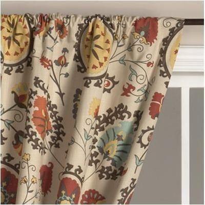 Suzani Curtain By World Market Olioboard Bohemian Curtains Curtains Suzani