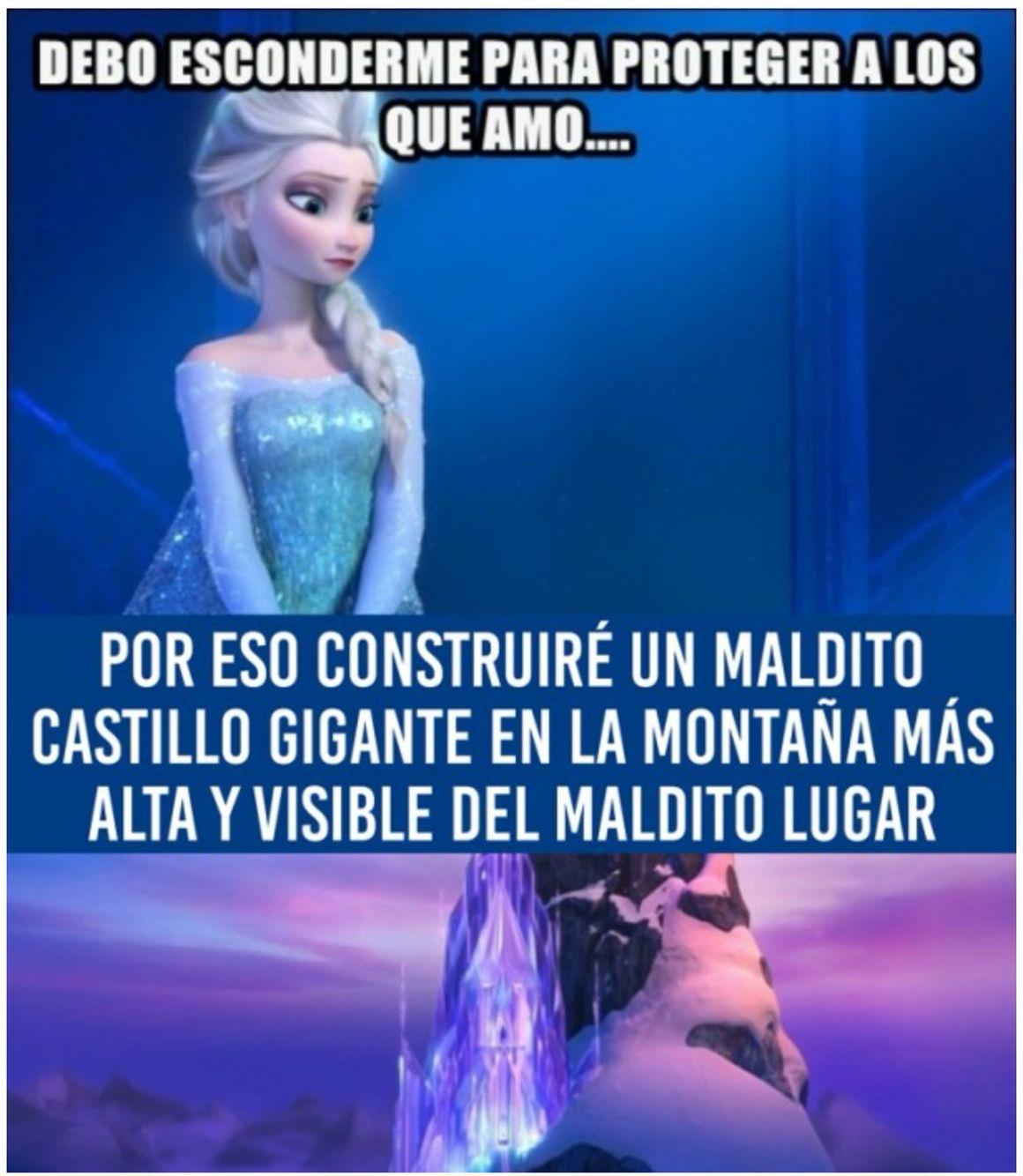 Logica De Princesas Memes Princesas Disney Frozen Memes Memes De Disney Muero De Risa