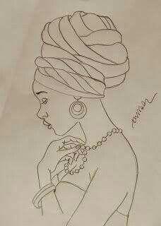 Patron De Africana African Art Paintings African Paintings African Women Art