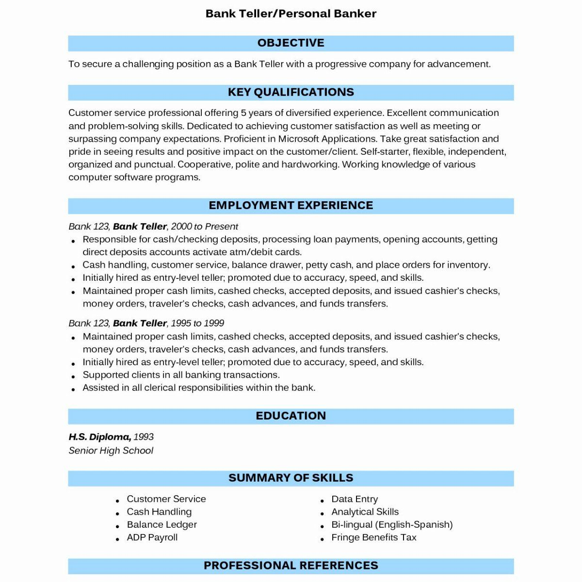 5 Years Experience Resume Beautiful 14 Correct Spelling Resume