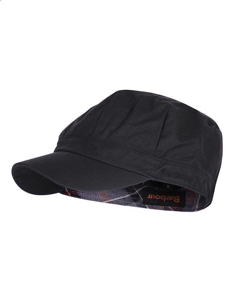 Barbour Ladies Wax Baker Boy Hat - Black LHA0002BK91 (H227 ... e2c8d783fbf
