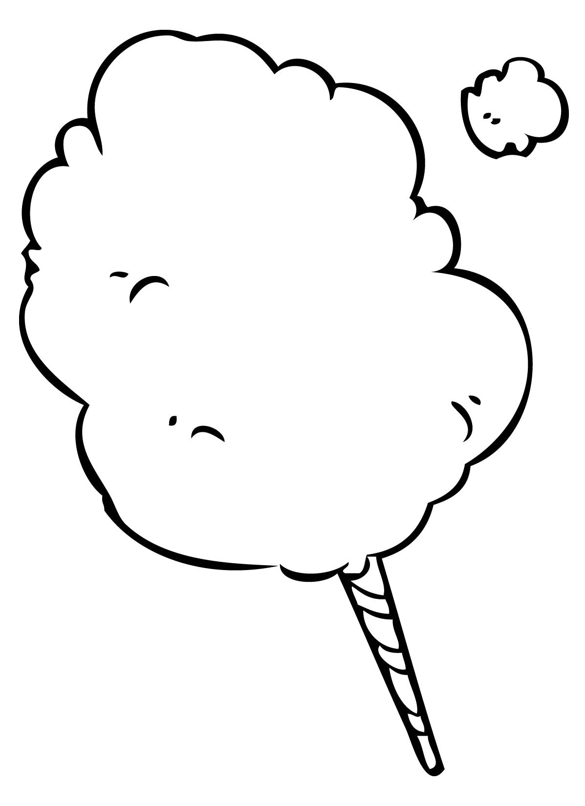 cotton candy coloring pages 74 free printable coloring pages jpg
