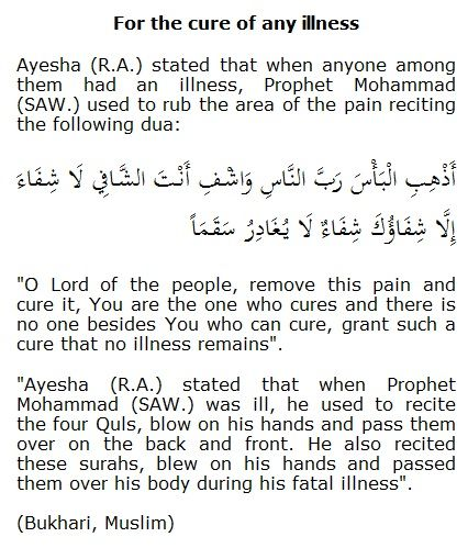 When in Pain recite this supplication (dua) | Arabic Calligraphy