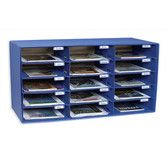Found it at Wayfair - Mail Box - 15 Mail Slots Blue