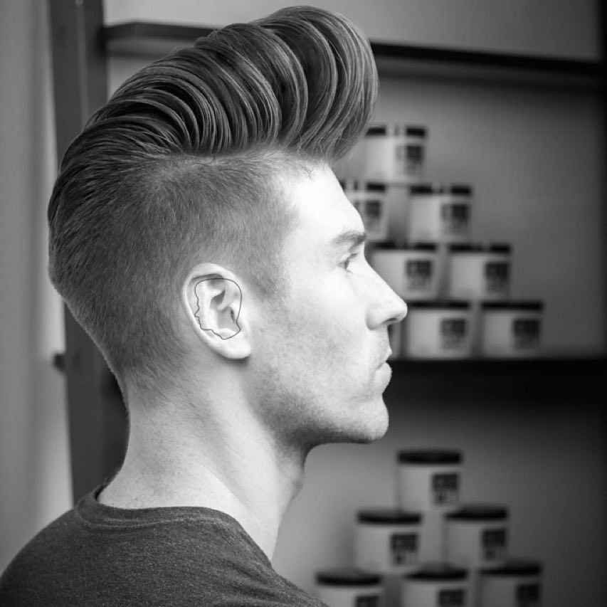49 Cool New Hairstyles For Men 2017 High Fade Pompadour And Hair