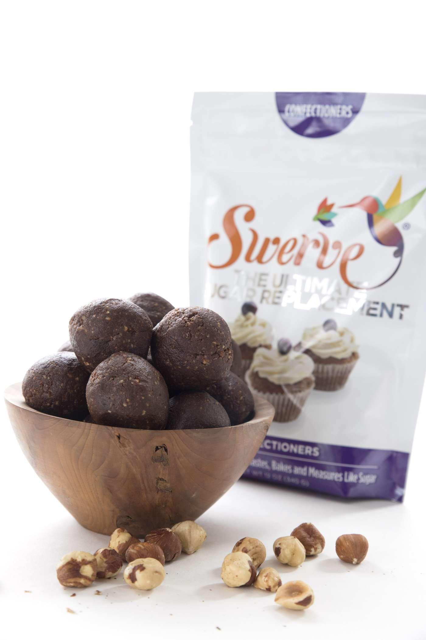 Chocolate hazelnut energy bites recipes swerve