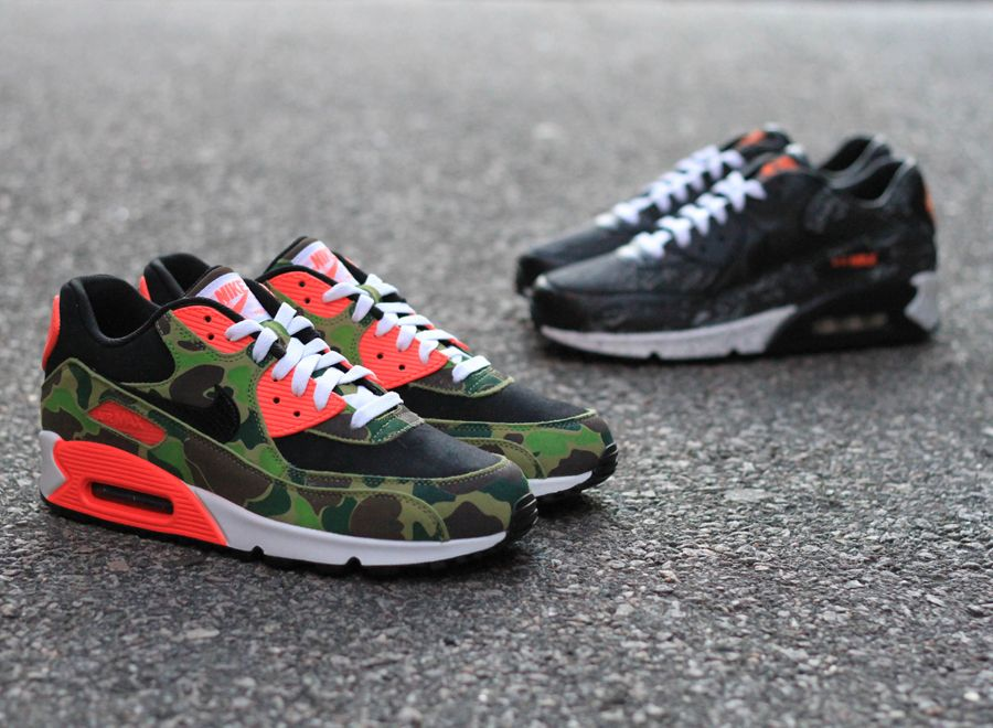 competitive price b522d 09d87 atmos x Nike Air Max 90 Camo Pack