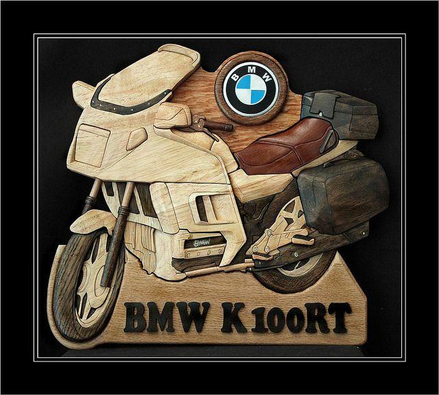 BMW K100RT INTARSIA (Large)   Flickr - Photo Sharing!