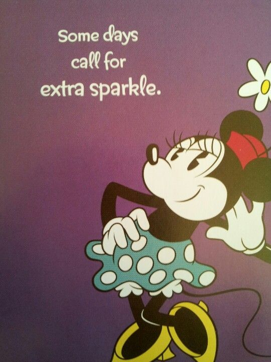 Minnie Mouse And Sparkle Disney Mickey Mouse Quotes Disney