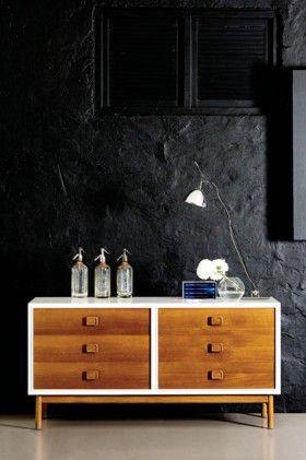 die besten 25 tv wand vintage ideen auf pinterest farben live tv tv wand planen und lowboard. Black Bedroom Furniture Sets. Home Design Ideas