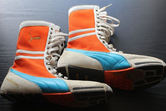 puma wrestling shoes