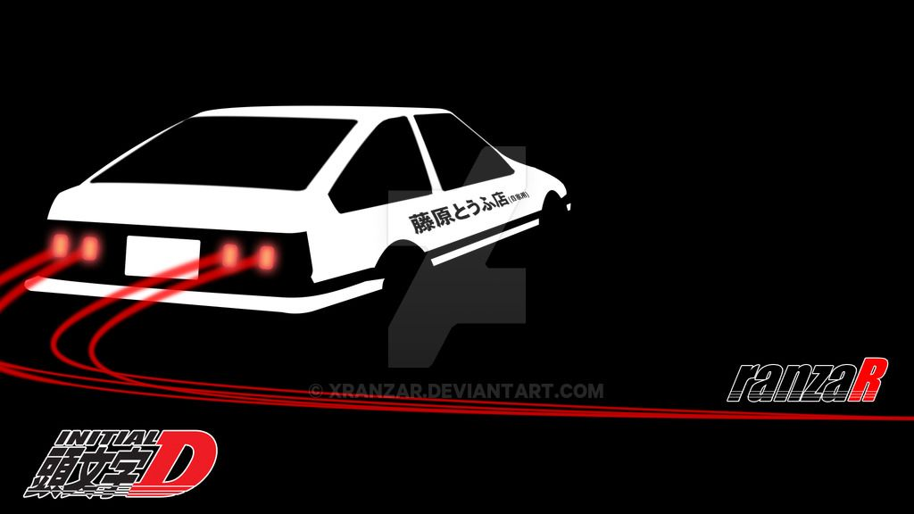 Initial d wallpaper by xranzar on deviantart id - Ae86 initial d wallpaper ...