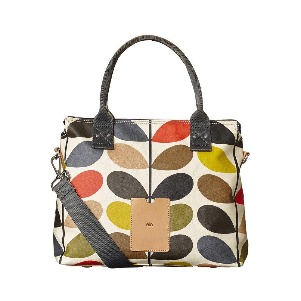 Orla Kiely - Zip Messenger Bag - Multicoloured    Amara