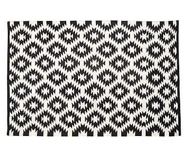 Tappeto Filippa in cotone, 120x180 cm Tappeto geometrico