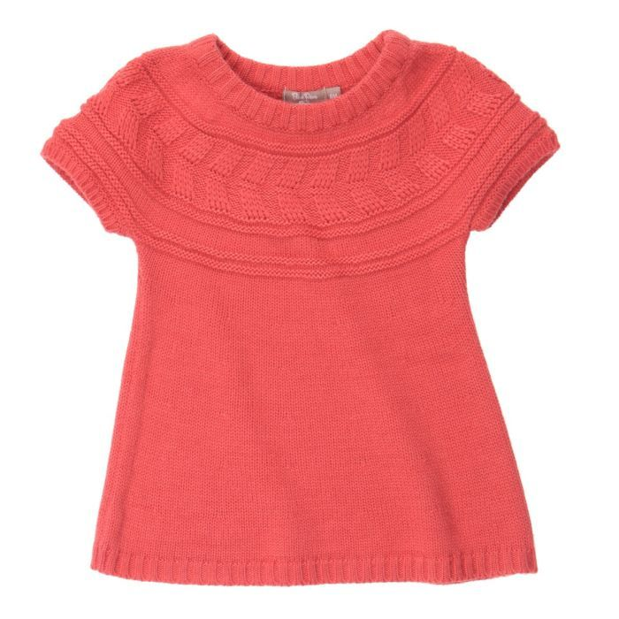 patron tricot fille